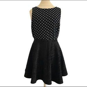 Dresses & Skirts - Velvet Swing Skirt Black